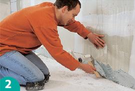 Probau piastrellare le pareti - Piastrellare su piastrelle ...