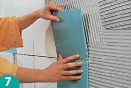 Probau: piastrellare le pareti